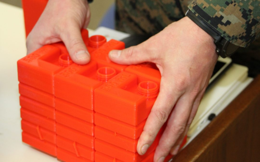 Marine Corps Captain 3D Prints Water Bottle Prototype, Designed to Reduce Logistical Footprint in Military Convoys