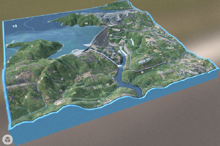 Interactive 3D Model Shows Detailed Topology of California's