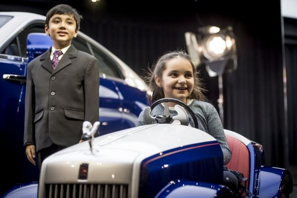 Rolls-Royce Applies 3D Printing Expertise to Allow Pediatric Patients to Drive to Surgery in Style