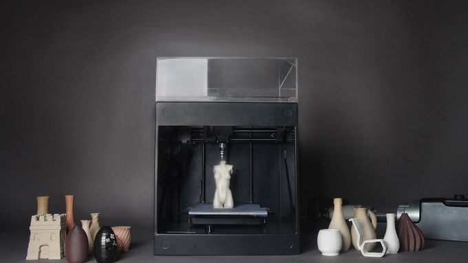 ClayXYZ 3D Printer and Clay Extrusion Device Introduce User-Friendly Ceramic 3D Printing