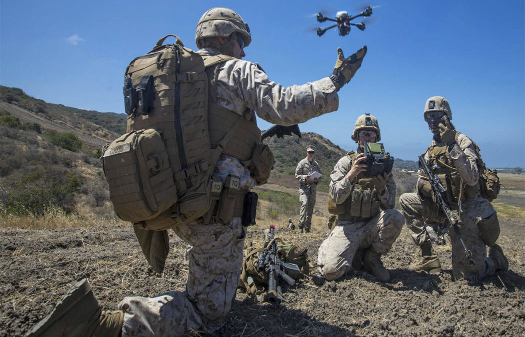 Marines 3D Print Nibbler Drone To Offer Surveillance Carry Supplies