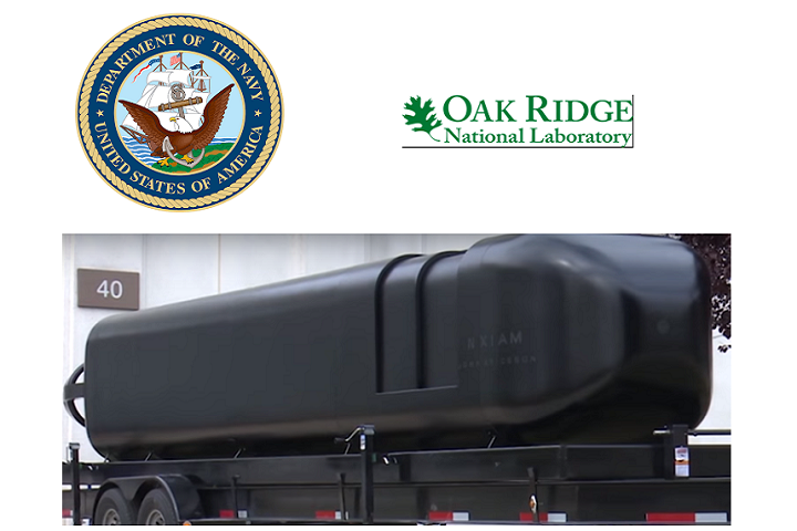 US Navy and ORNL Team Up to Develop the Military's First 3D Printed Submarine Hull on the BAAM