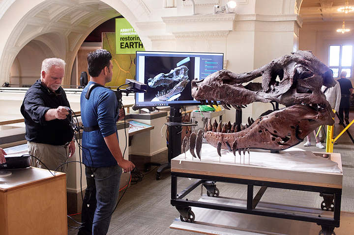 MIT 3D Scanning Solution Uses Low-Cost Kinect to Produce High-Resolution Imaging of a Tyrannosaurus Rex Called Sue