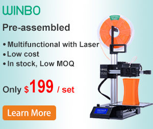 WINBO Pre-Assembled Multifunctional Printer with Laser