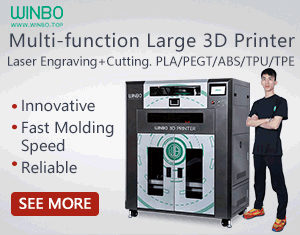 WINBO Multi-Function Large 3D Printer