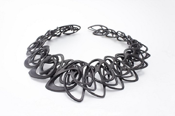 Architect and 3D Jewelry Designer Jenny Wu Partners with ExOne to 3D Print Steel Catena Necklace