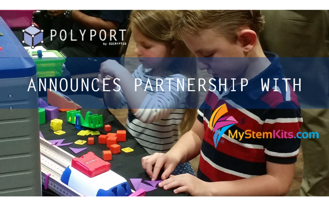 3D Printing in a Secure STEM Environment: MyStemKits & D3CRYPT3D Announce Partnership