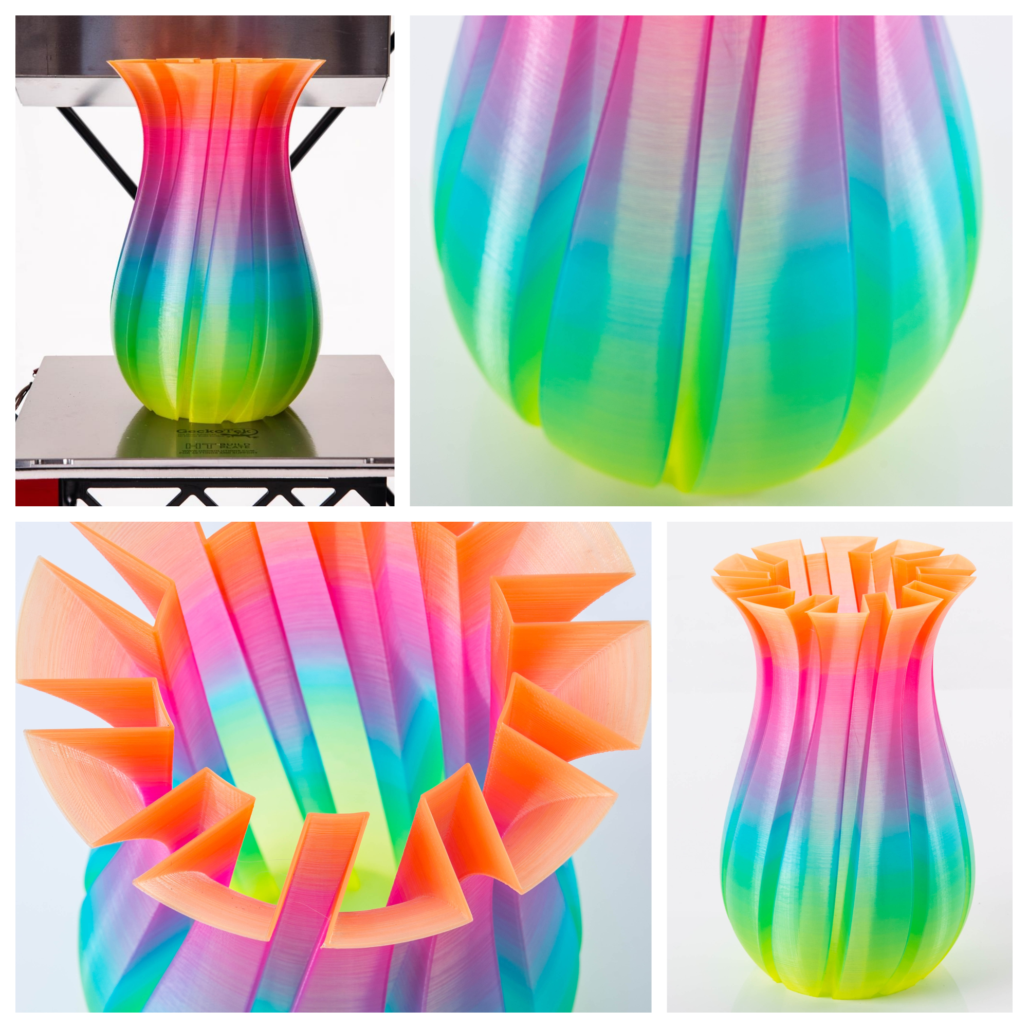 How Close Are We to Full Color 3D Printing?