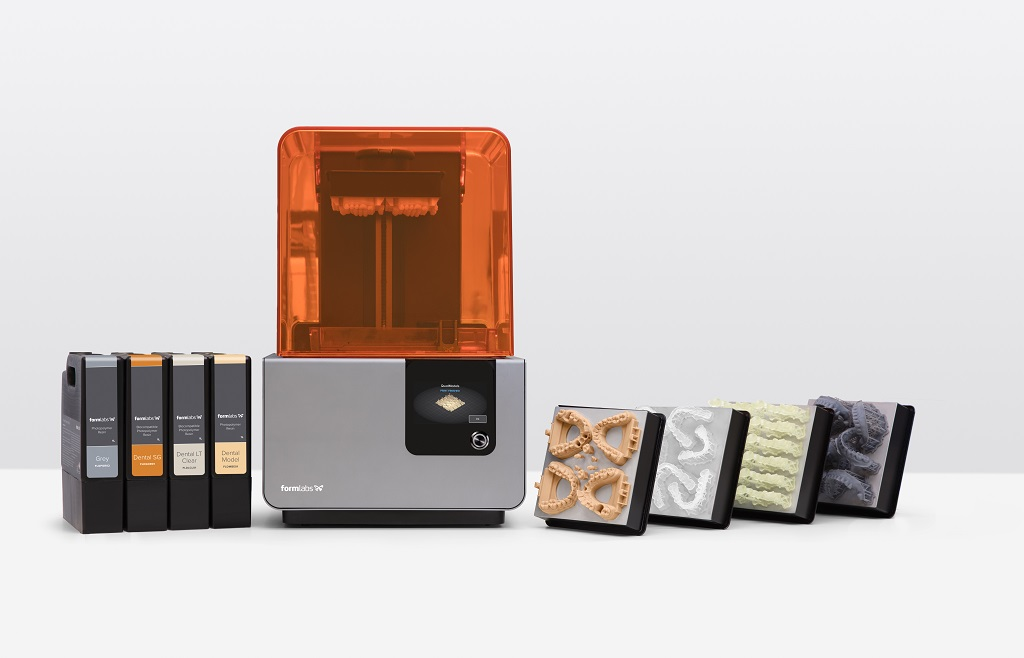 Formlabs Introduces New Biocompatible 3D Printing Resin for Long-Term Dental Use
