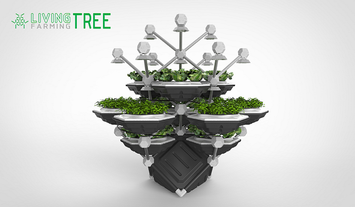 3D Printed Connectors Make This Startup's Sustainable Indoor Garden Grow