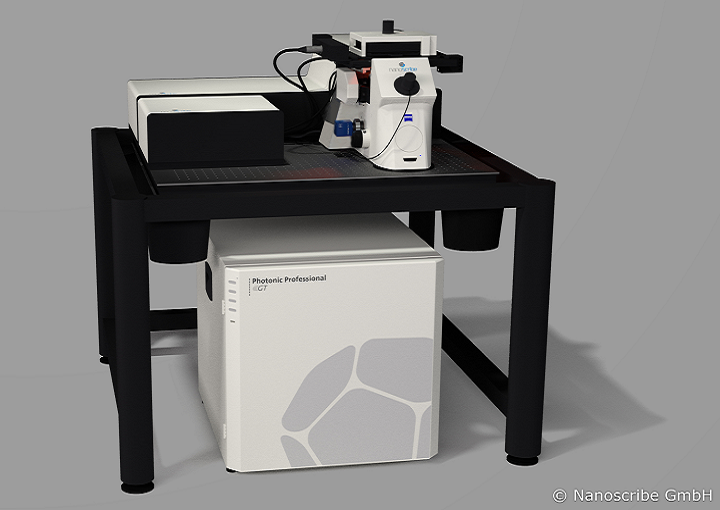 Student Uses Nanoscribe Technology to Investigate 3D Printed Microstructures for Optics in Thesis