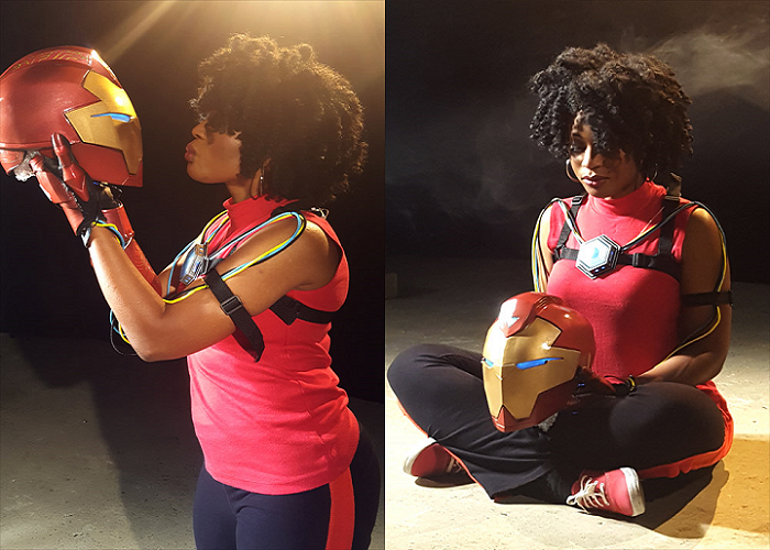 Melissa Ng on Designing and 3D Printing Her Cosplay Interpretation of Ironheart's Armor for Marvel Commission