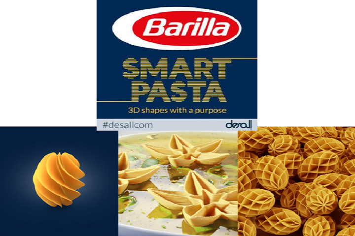 Barilla and Desall Announce Winners of Second 3D Printed Pasta Competition