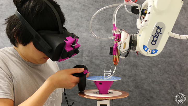 RoMA: Robotic 3D Printing and Augmented Reality Combine in Interactive Fabrication Platform