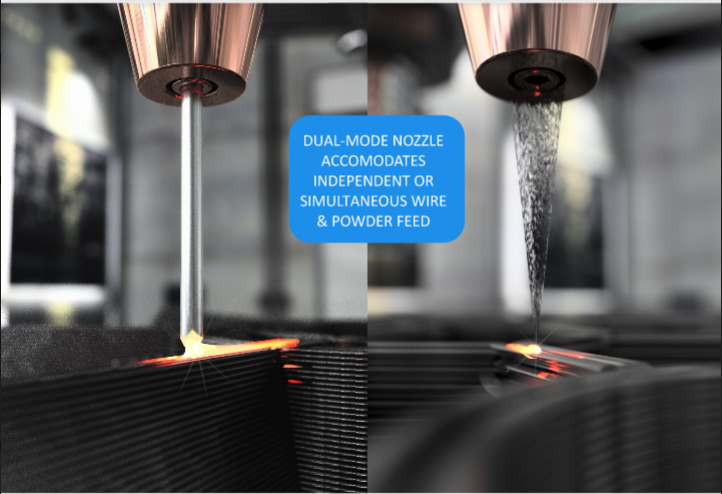 AddiTec Offers Wire and Powder Additive Manufacturing in One Machine
