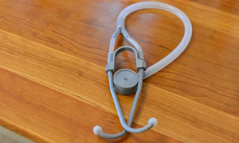 3D Printed, Open Source Glia Stethoscope Receives Clinical Validation