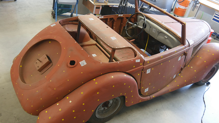 Classic Car Magazine 3D Scans and Restores Unique 1937 Ford Eifel with Help from Artec 3D