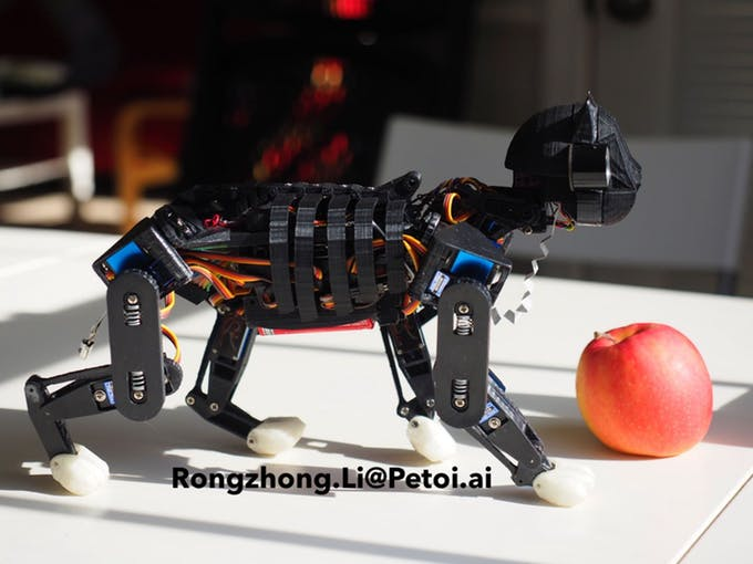OpenCat Project Pounces on 3D Printing and Robotics
