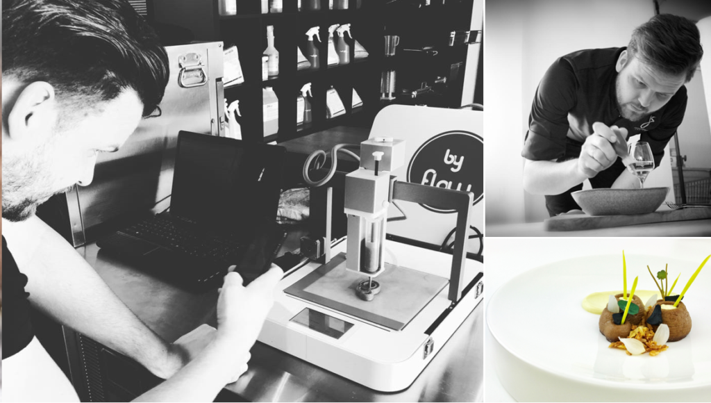 High-End Restaurant in the Netherlands Adding 3D Printed Food to the Menu - 3DPrint.com   The Voice of 3D Printing / Additive Manufacturing