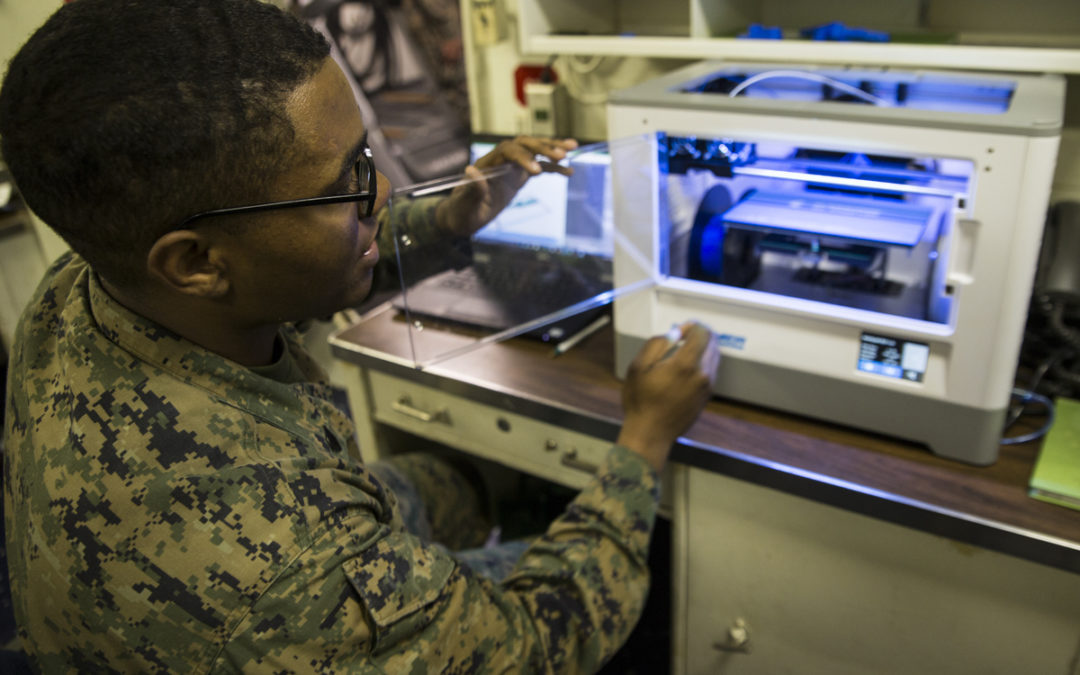 Marines Embrace 3D Printing for Production of Replacement Parts
