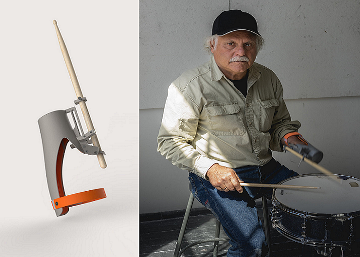 Drum Roll, Please…Designer Creates 3D Printed, Open Source Prosthetic for Amputee Drummer