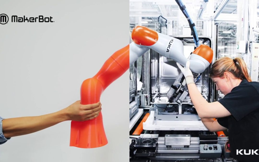 MakerBot 3D Printing and KUKA Robotics
