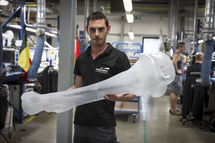 No Bones About It: Materialise Has Taken On a Mammoth 3D Printed Reconstruction Project