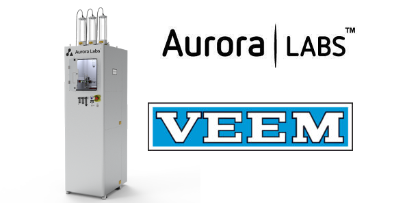 VEEM Partners with Aurora Labs for Early Access to 3D Printing Technology