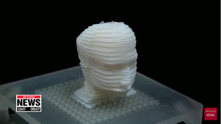 3D Printed Robot Mimics Human Emotions