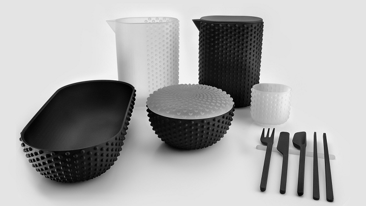 Designer Creates Unique 3D Printed Homeware Collection for Cooper Hewitt Showcase
