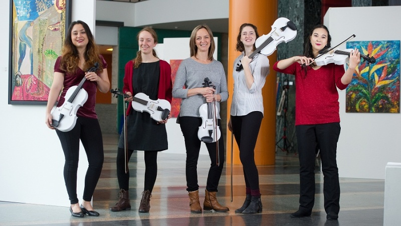 A 3D Printed Symphony of Violins Will Sound in Ottawa for 3D String Theory Concert