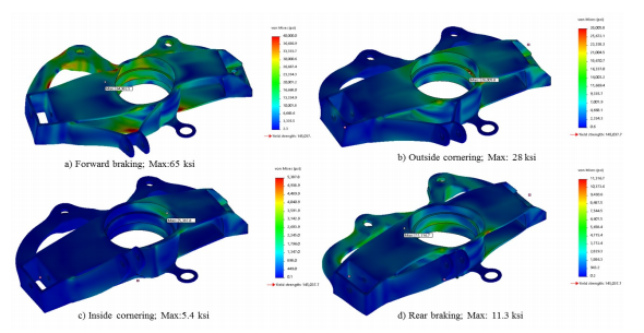 3D Printing an Improved DMLS Automotive Component Using Topology Optimization and DfAM