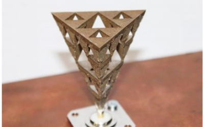 Student Takes A Look at Several Metal 3D Printed Antennas for Thesis Paper