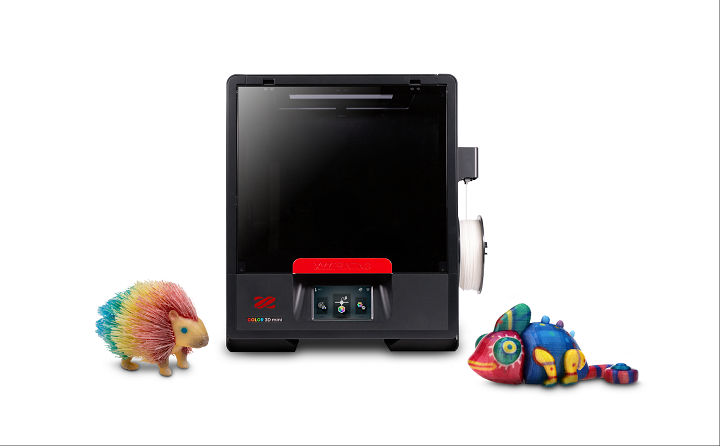 XYZprinting Showcasing da Vinci Color mini and Three New 3D Printing Materials at CES 2019