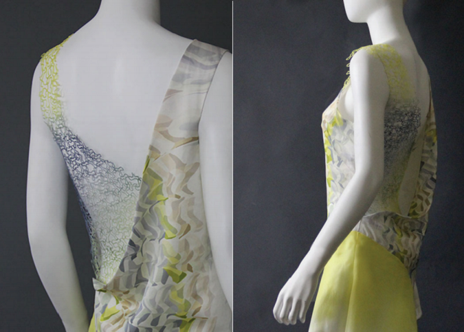 Researcher Presents Case Study on Partially 3D Printed Lace-Like Dress