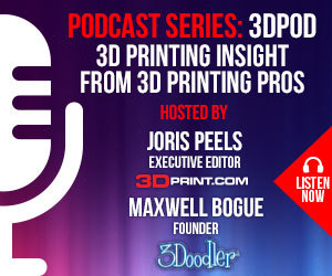 3DPOD Episode 37: Jos Burger, Ultimaker CEO