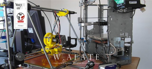 Tongo's WoeLab Has Produced Over 20 3D Printers Made From E-Waste