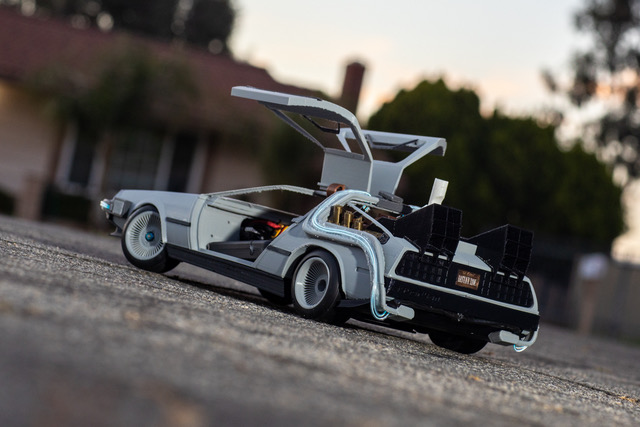 Brett Turnage's Newest 3D-Printed RC Automobile: The Delorean Time Machine 3