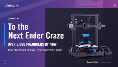 Creality Ender-Three V2 to Generate Subsequent New Ender Craze in 3D Printing Neighborhood 1