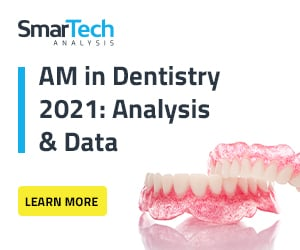 Smartech analysis AM in dentistry