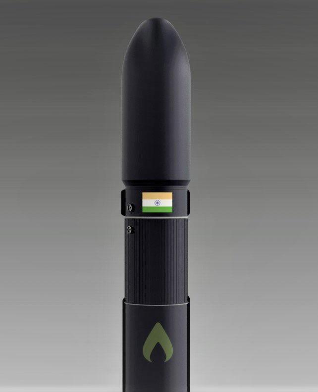 Agnikul's made-in-India launch vehicle, the Agnibaan.